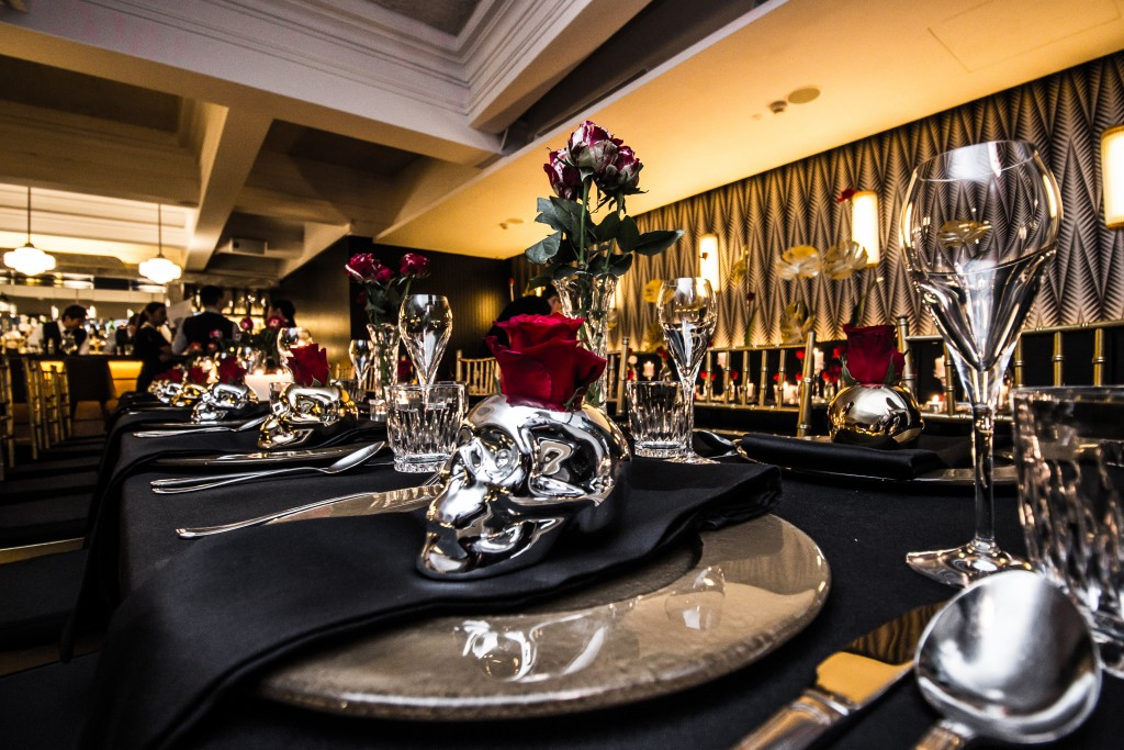 Black & Gold Dinner by Clubvivre 13