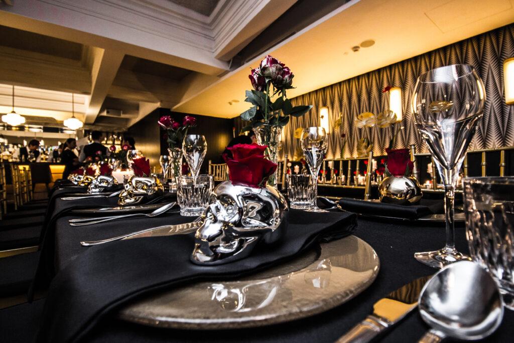 Black & Gold Dinner by Clubvivre 13