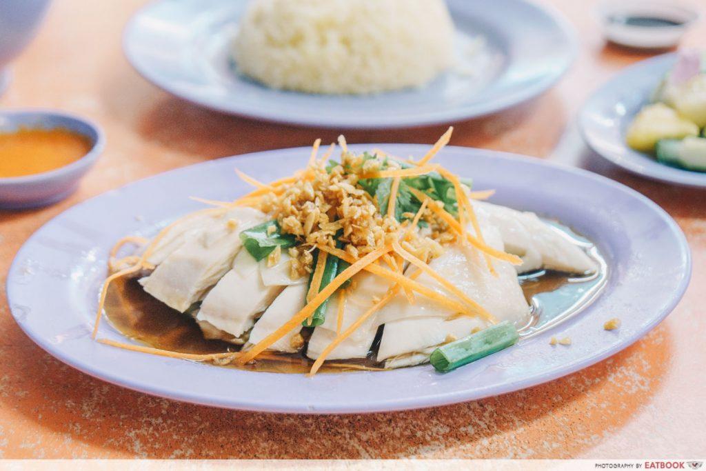 Katong Food Delicious boneless chicken rice