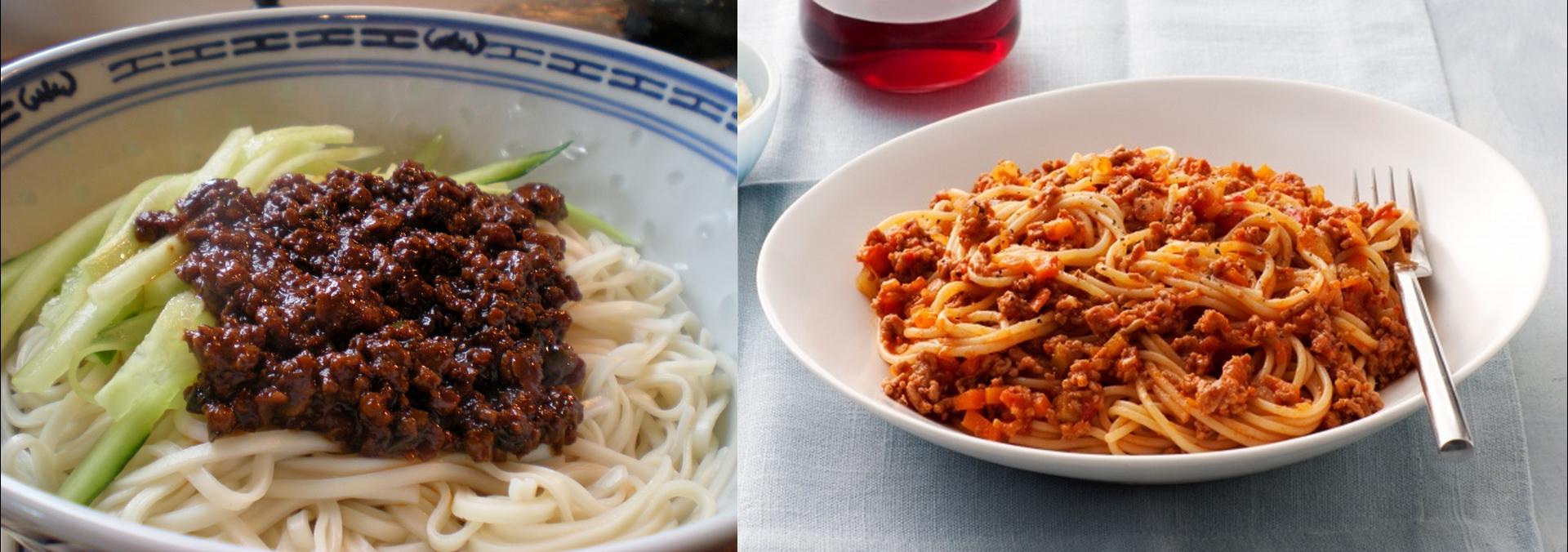 bolognese vs zha jiang