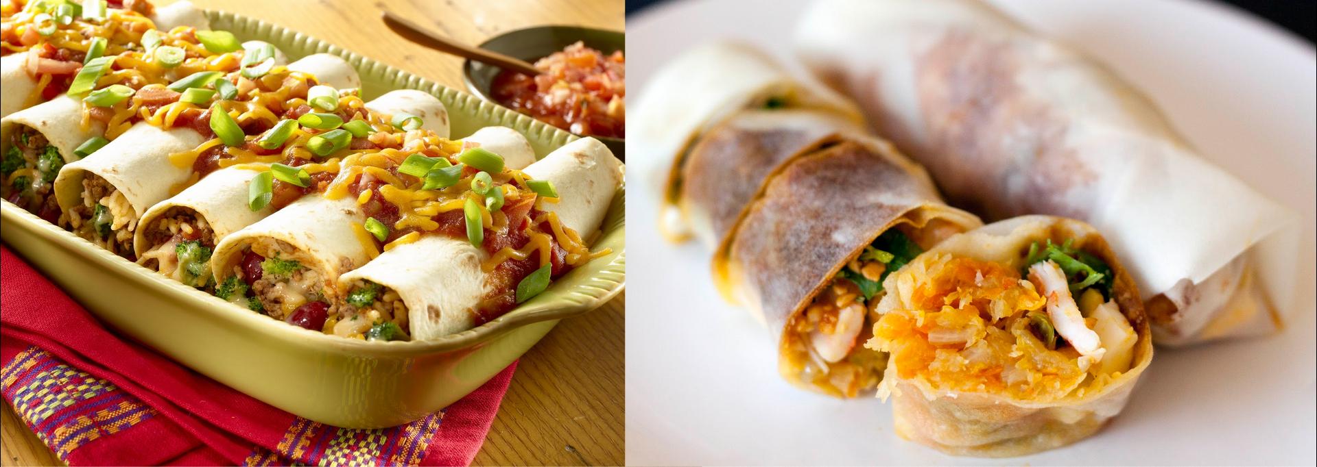 popiah vs burrito