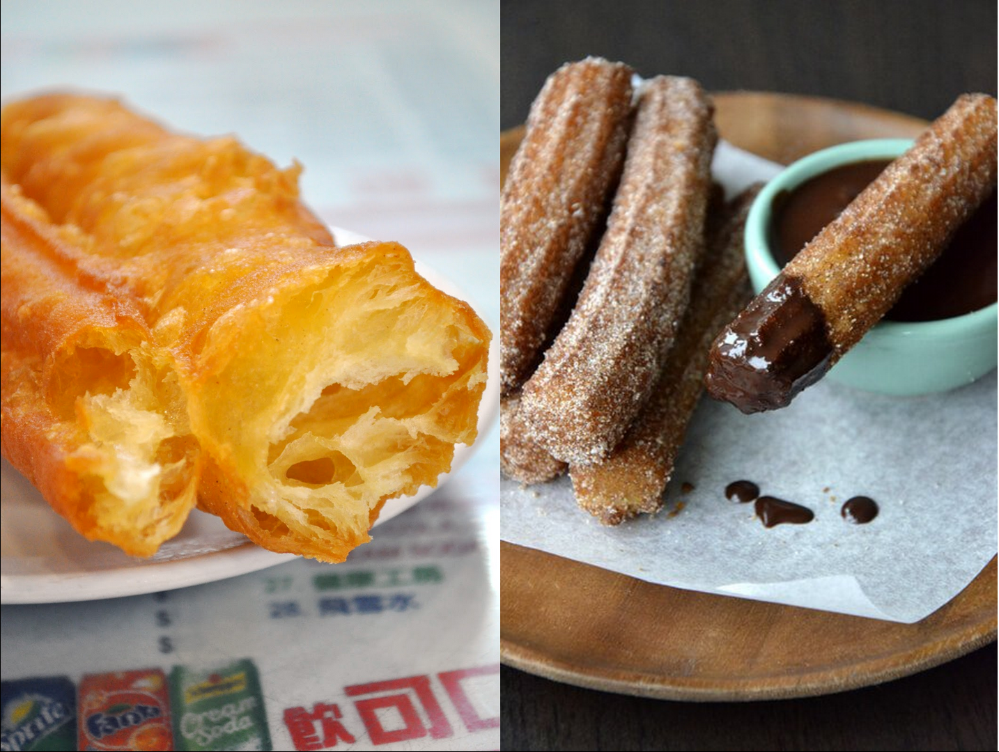 you tiao vs churro