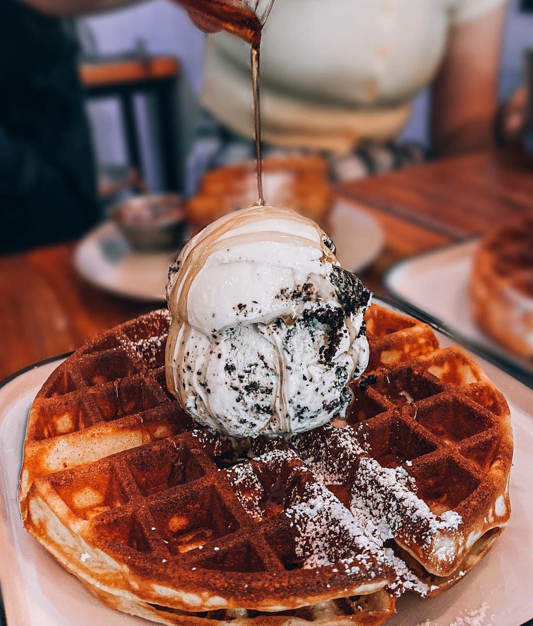 Lickers Waffles Ice Cream
