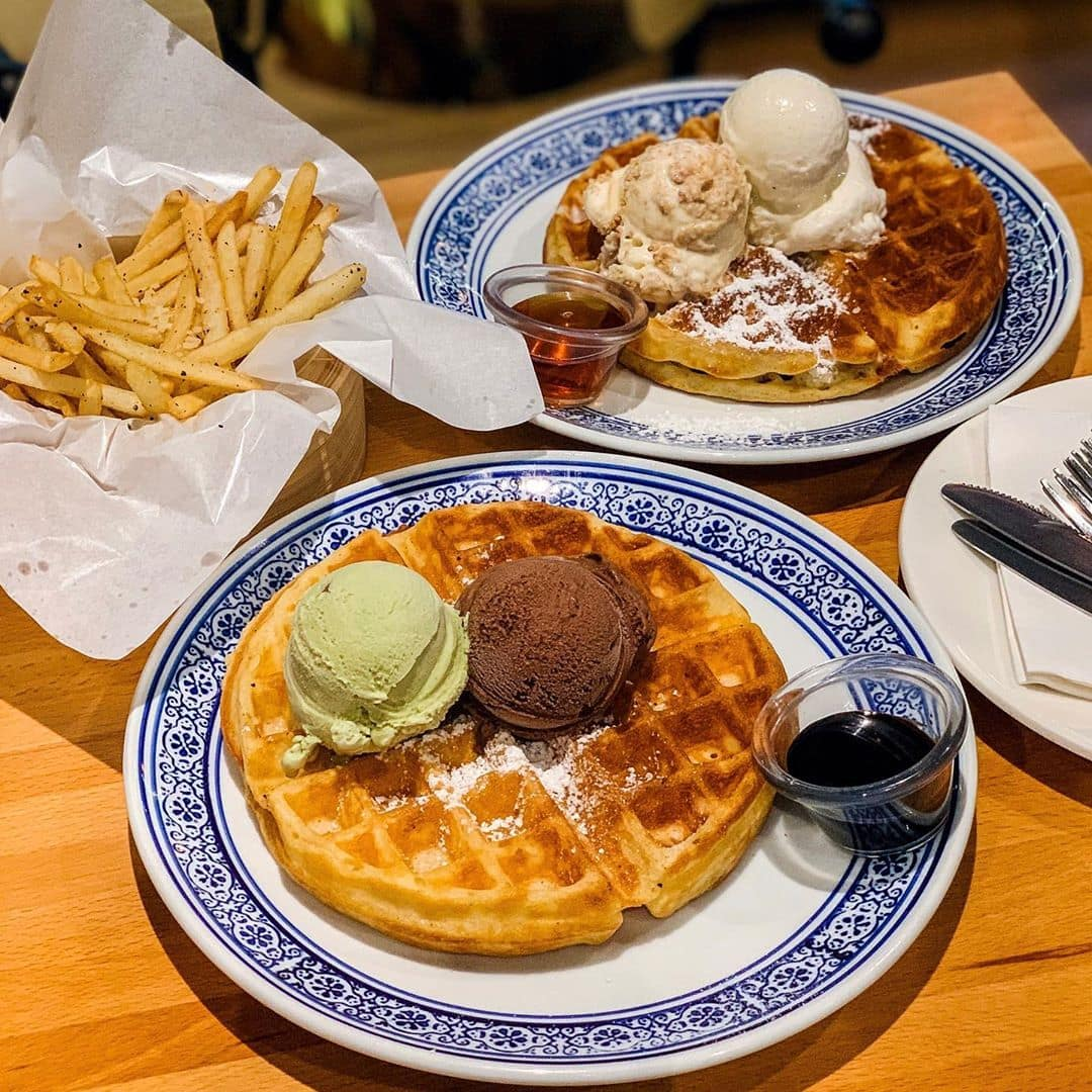 Wimbly Lu Waffles Ice Cream