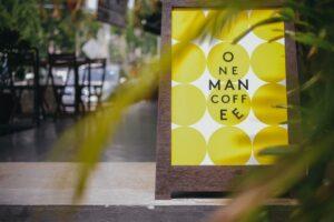 One Man Coffee 1