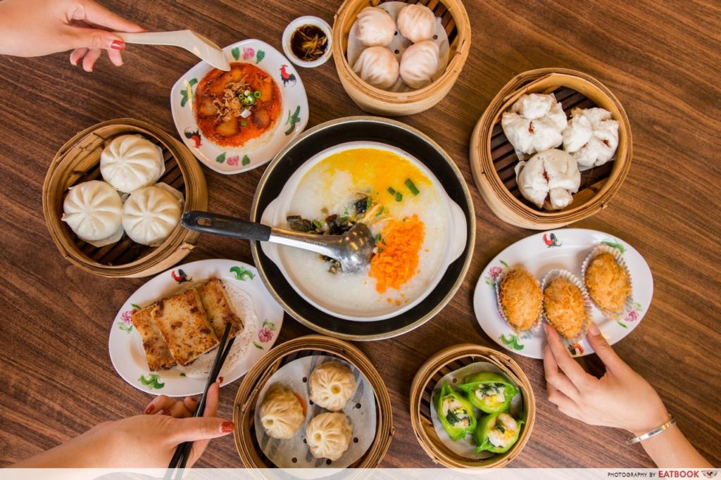 Geylang Food Mong Kok Dim sum