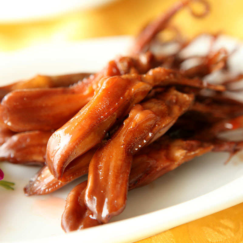 Chinese Food Duck Tongue