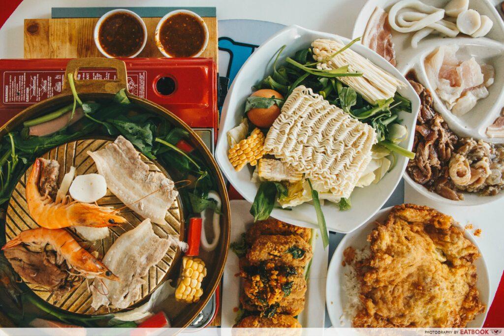 affordable thai food bubble's kitchen