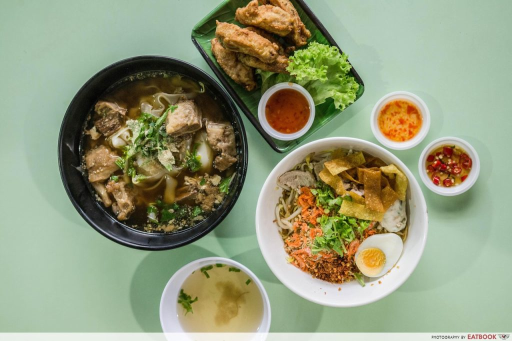 affordable thai food gin sen