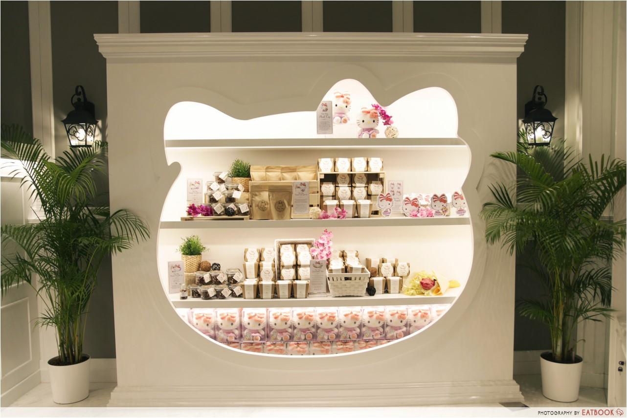 Hello Kitty Orchid Garden Cafe Singapore