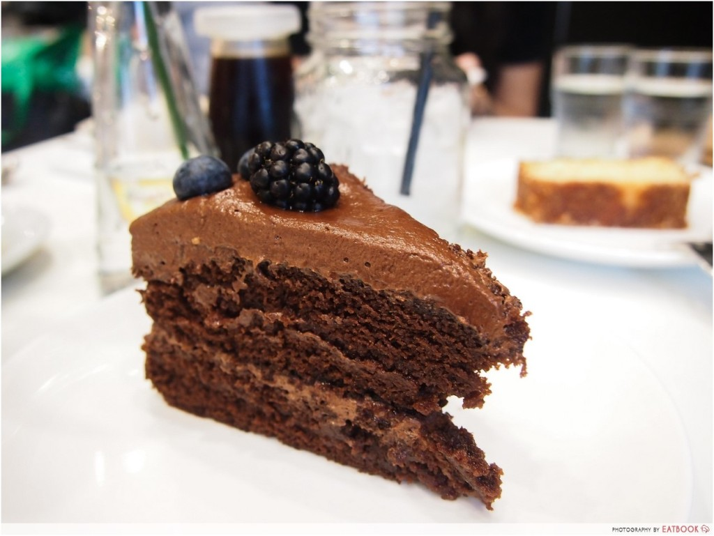 Soul Kitchen Chocolate Cake