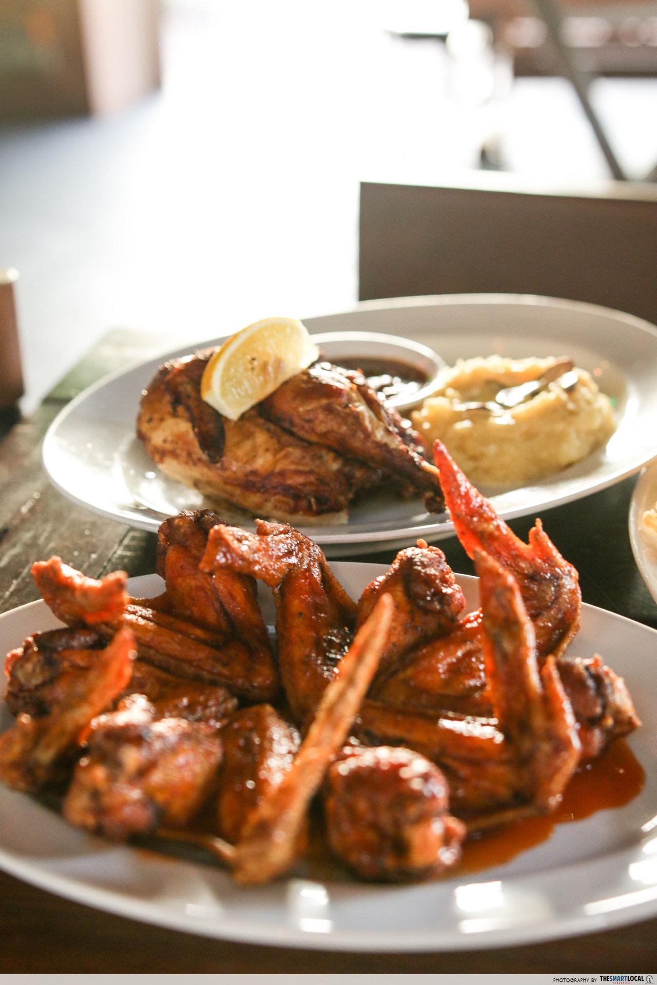 unique crazy chicken wings singapore 30