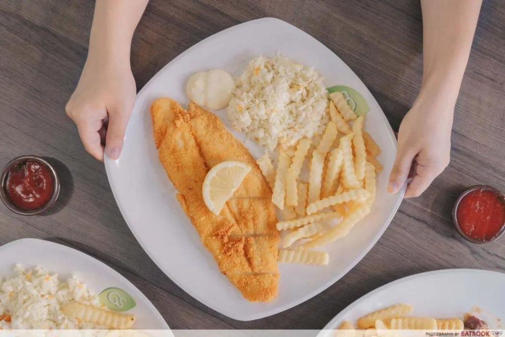 Fish and chips singapore Tip Top Western