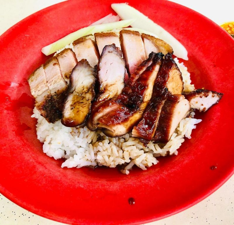 foong kee char siew rice
