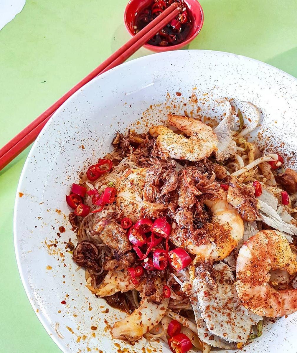 545 Whampoa Prawn Noodles dry