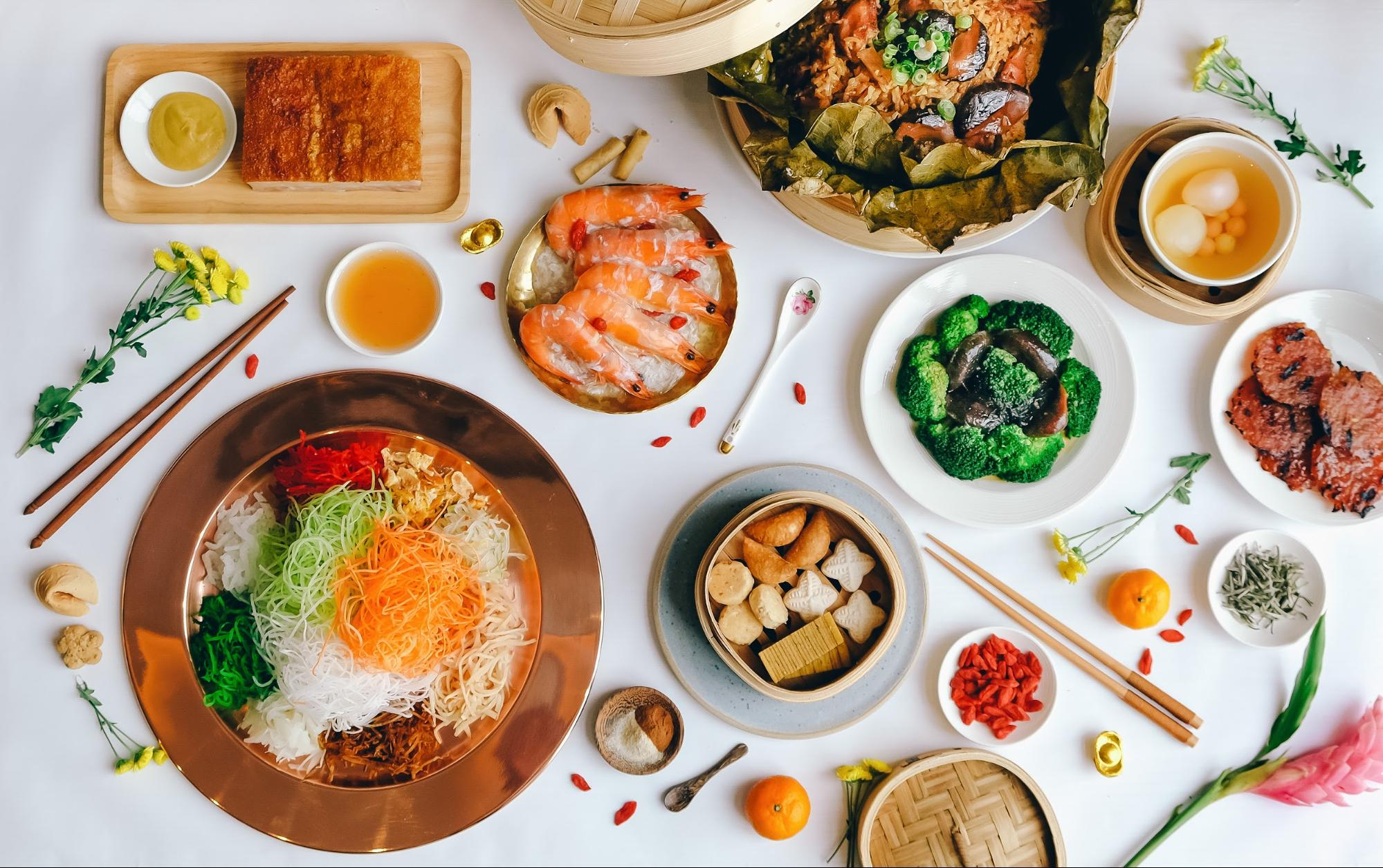 CNY reunion dinner - Sky22