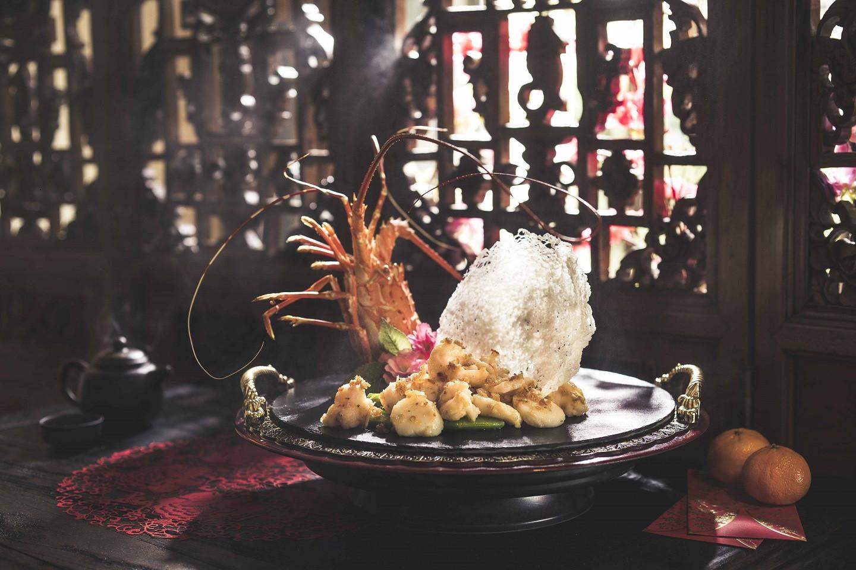 CNY reunion dinner - Szechuan Court