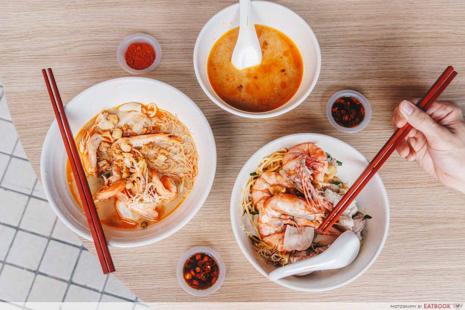 East Treasure Speciality Prawn Noodle