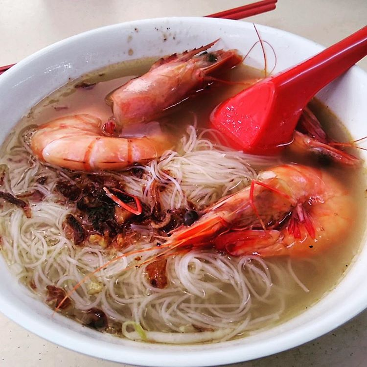 pasir panjang food - fei zai pork rib prawn noodles