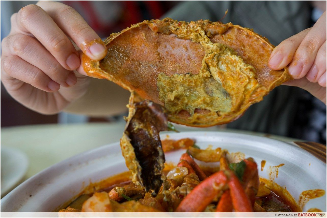 21 Seafood Review: Get Three Sri-Lankan Crabs For $25 At