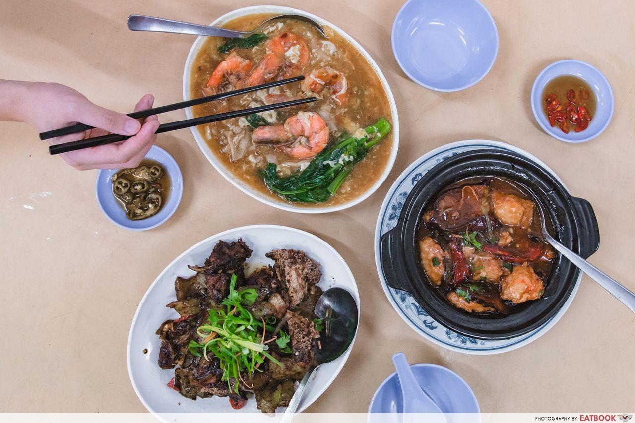 Kok Sen Restaurant Review: XL Prawn Hor Fun From A Bib Gourmand Zi Char  Eatery - EatBook.sg - New Singapore Restaurant and Street Food Ideas &  Recommendations