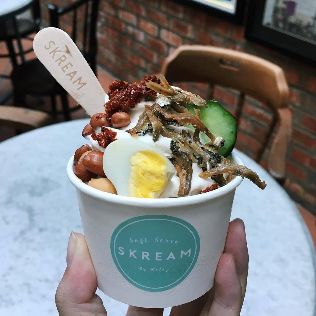 Nasi Lemak Ice-Cream Sundae Is Now A Thing - EatBook.sg