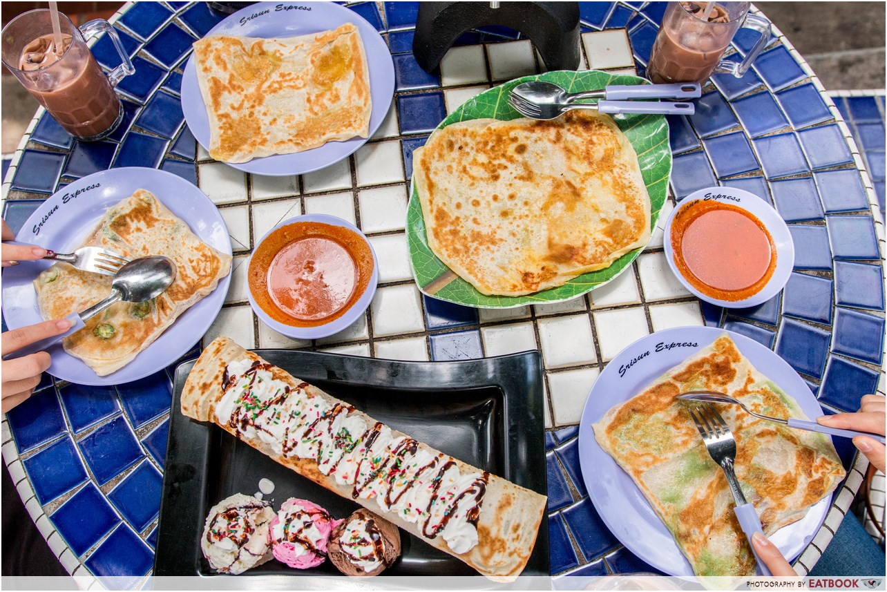 Srisun express review 24 hour prata house with massive for Gardening express reviews
