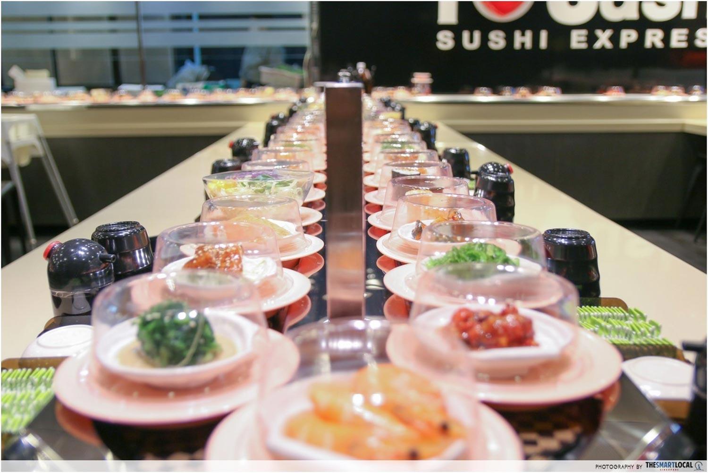 Sushi Express Funan - Sushi Introduction