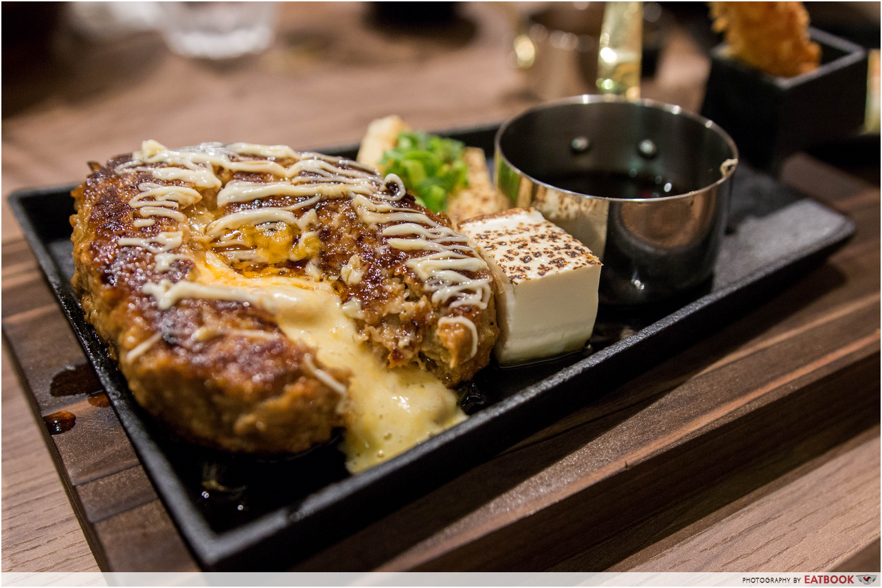 epic cheese dishes -hamburg steak keisuke