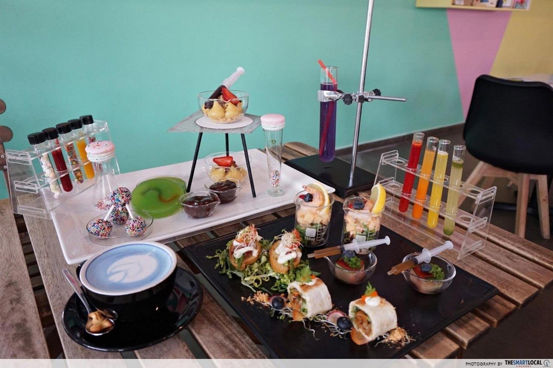 Affordable High Tea - Fresh Fruits Lab
