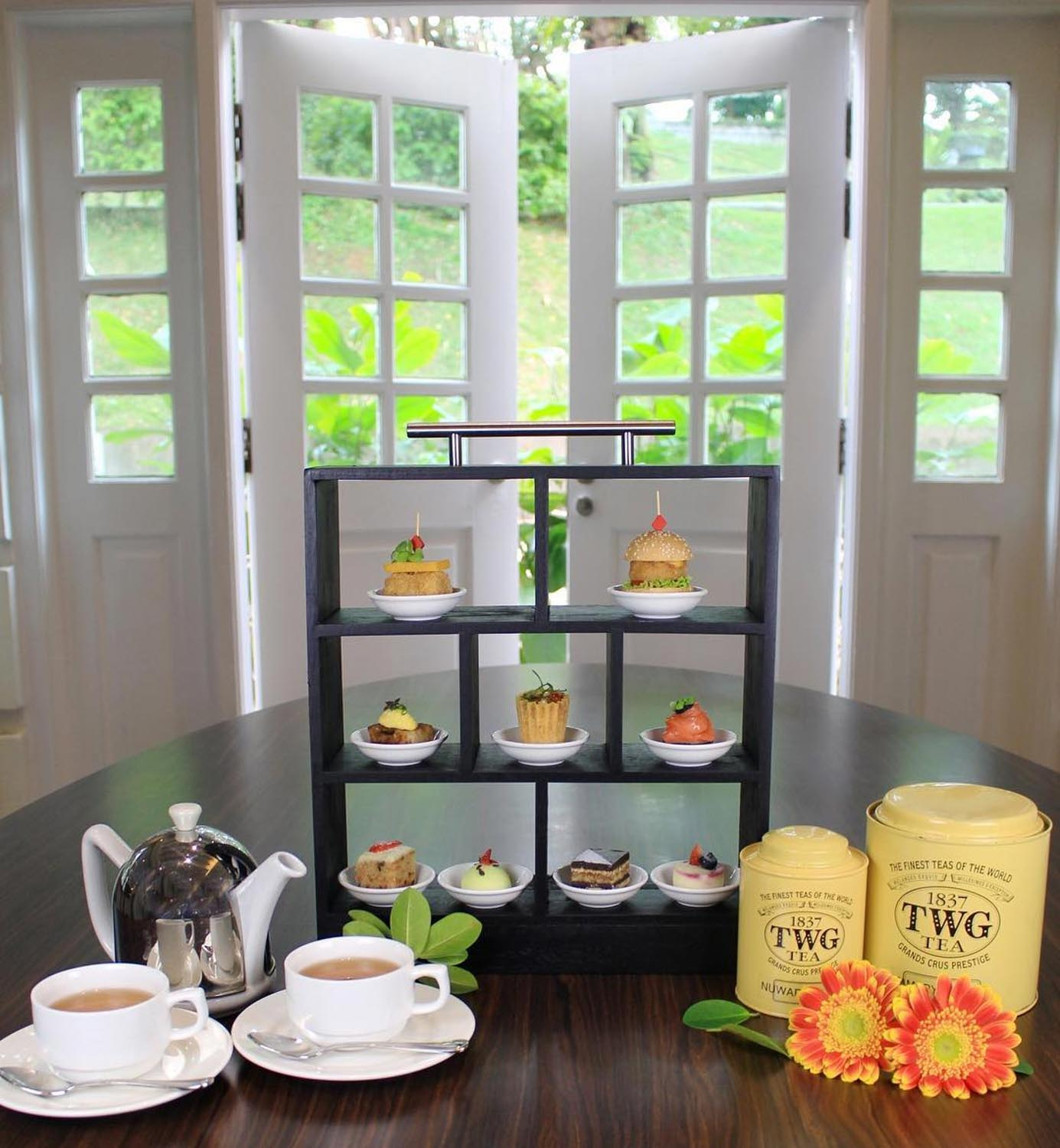 Affordable High Tea - Hotel Fort Canning