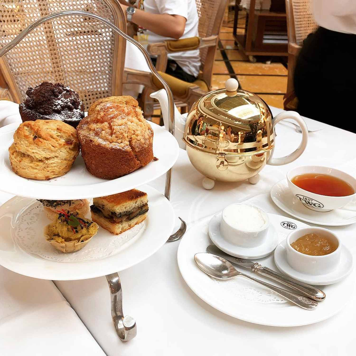 Affordable High Tea - TWG Tea
