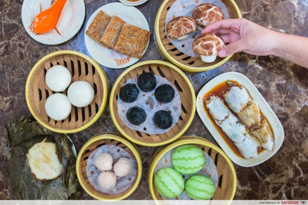 cheap dim sum Zi Yean Bistro