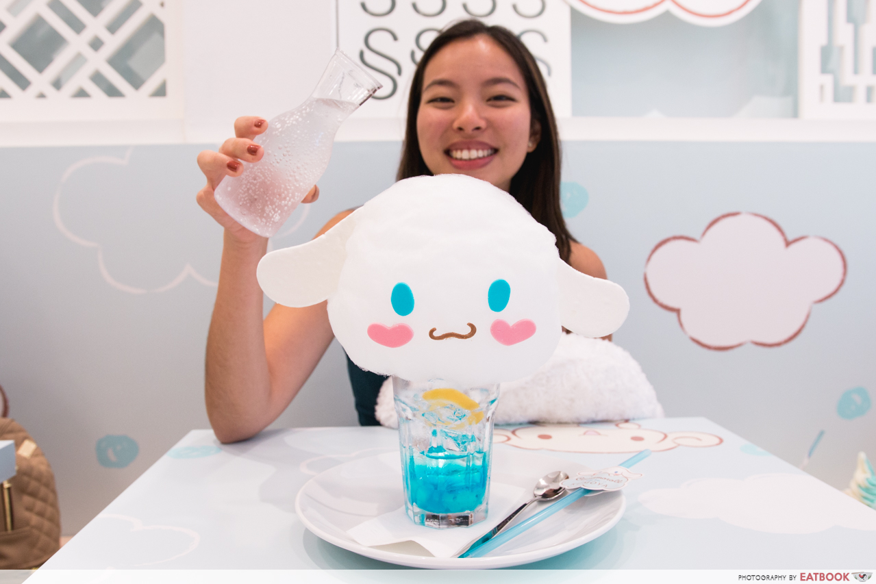 cinnamoroll cafe - drinks
