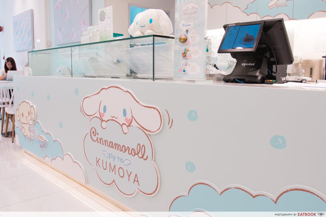 cinnamoroll cafe - interior