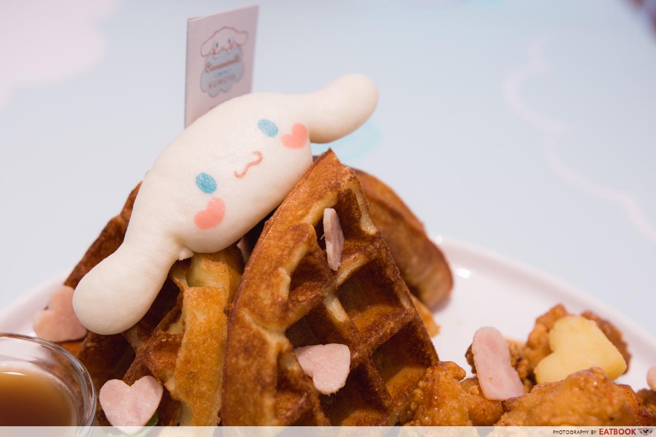cinnamoroll cafe - waffle 1