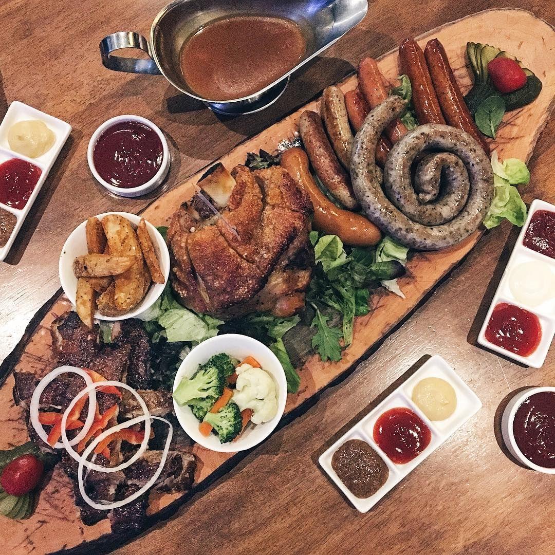 giant meat platters - brozeit