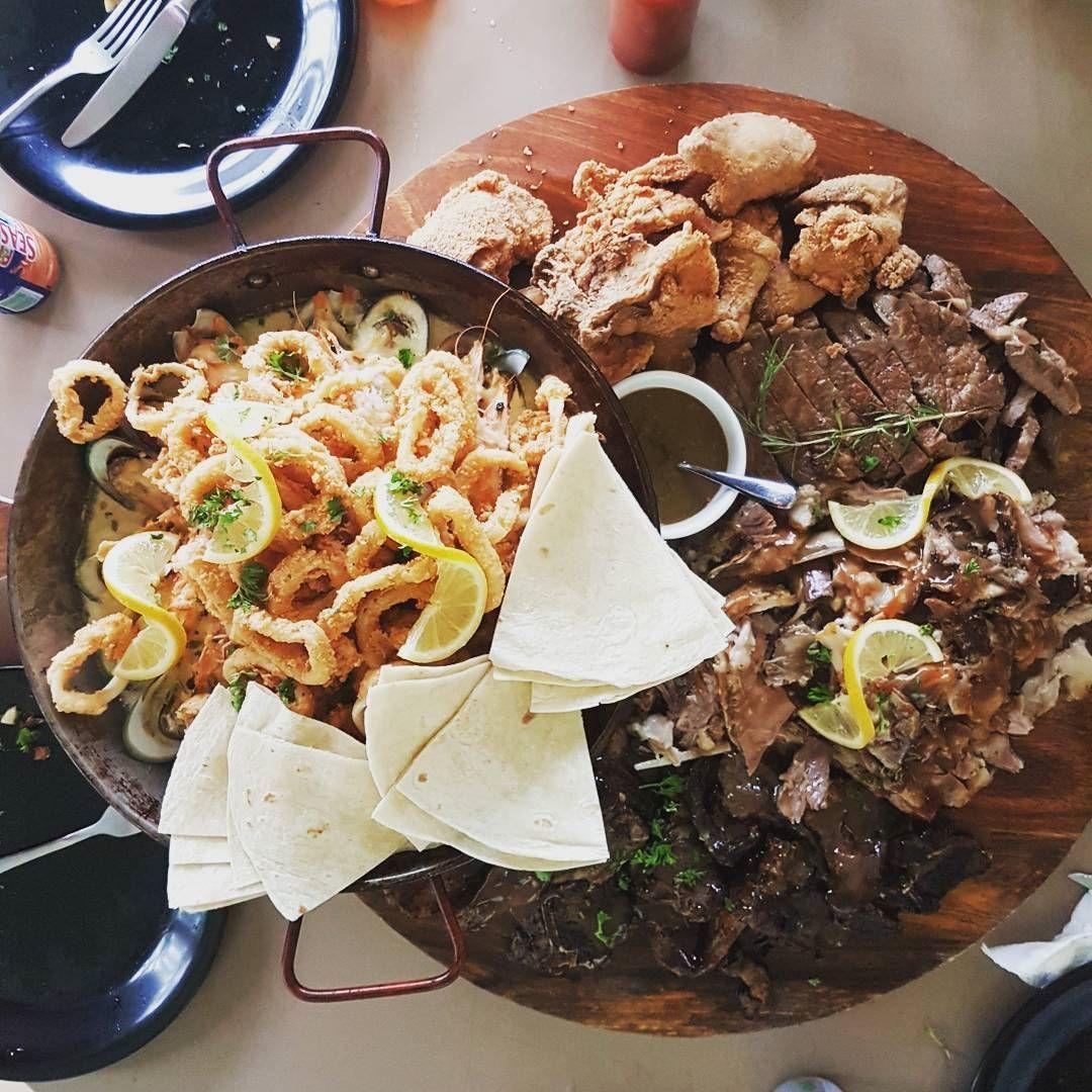 giant meat platters - mela