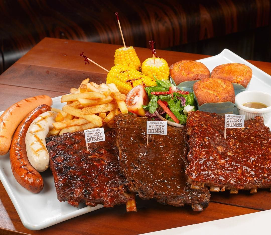 giant meat platters - morganfield's