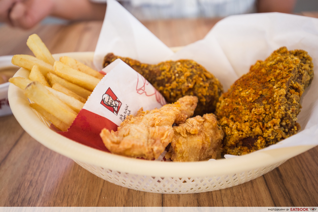kfc curry crunch - curry crunch box
