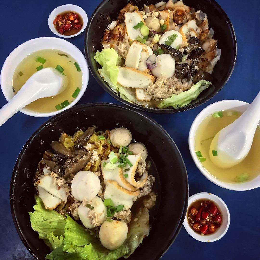 Kovan food - Yam Mee