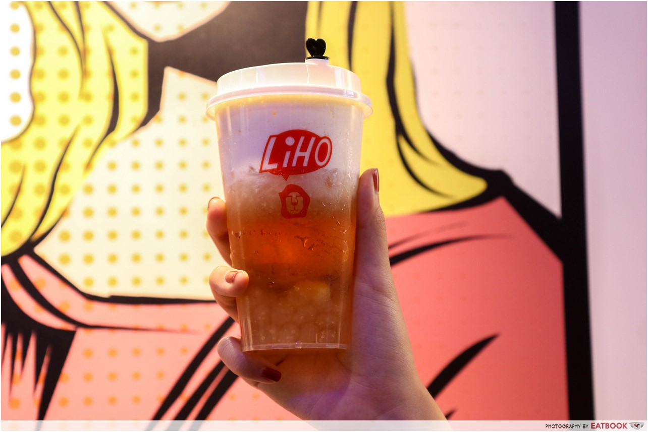 liho - cheese tea