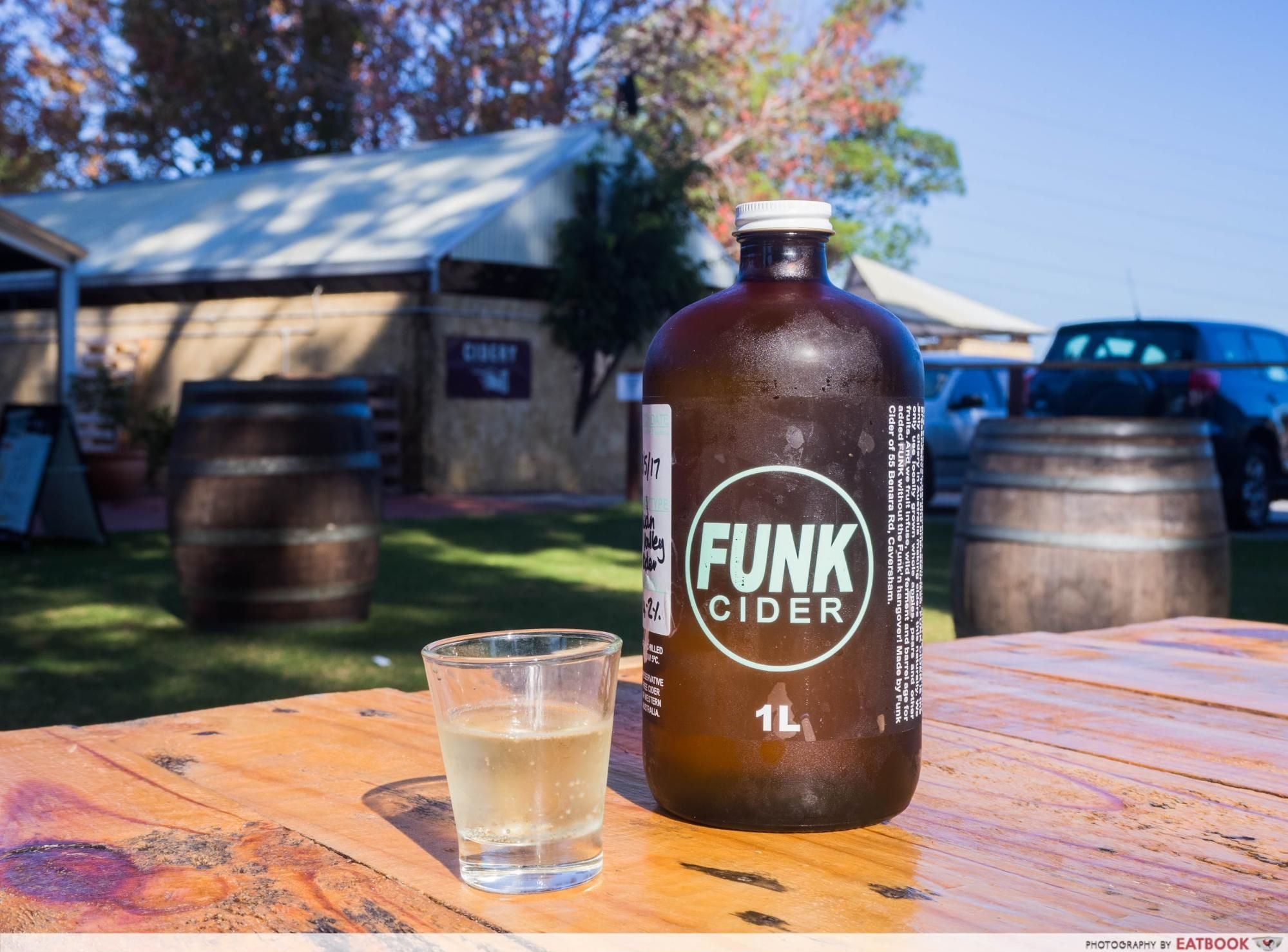swan valley - funk cider