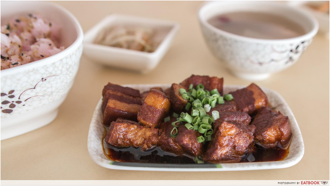 Plum And Rice - pork belly 1