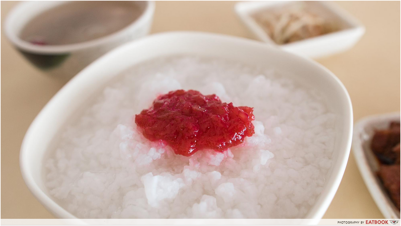 Plum And Rice - umeboshi porridge
