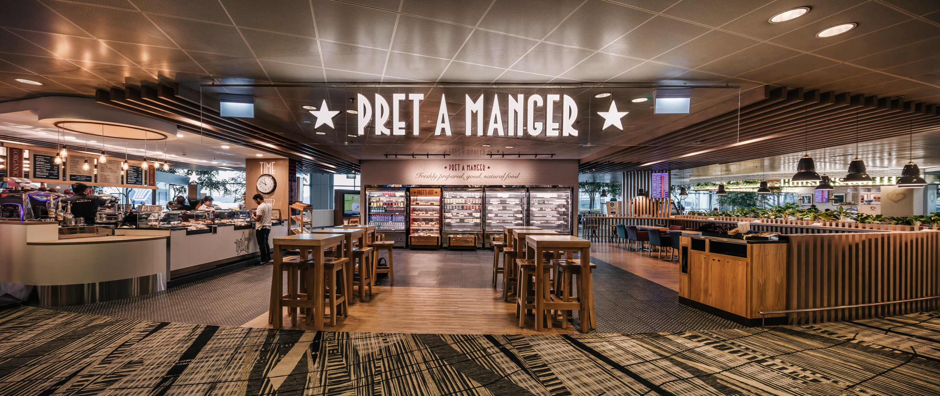 pret a manger at changi airport terminal 3 is now open. Black Bedroom Furniture Sets. Home Design Ideas