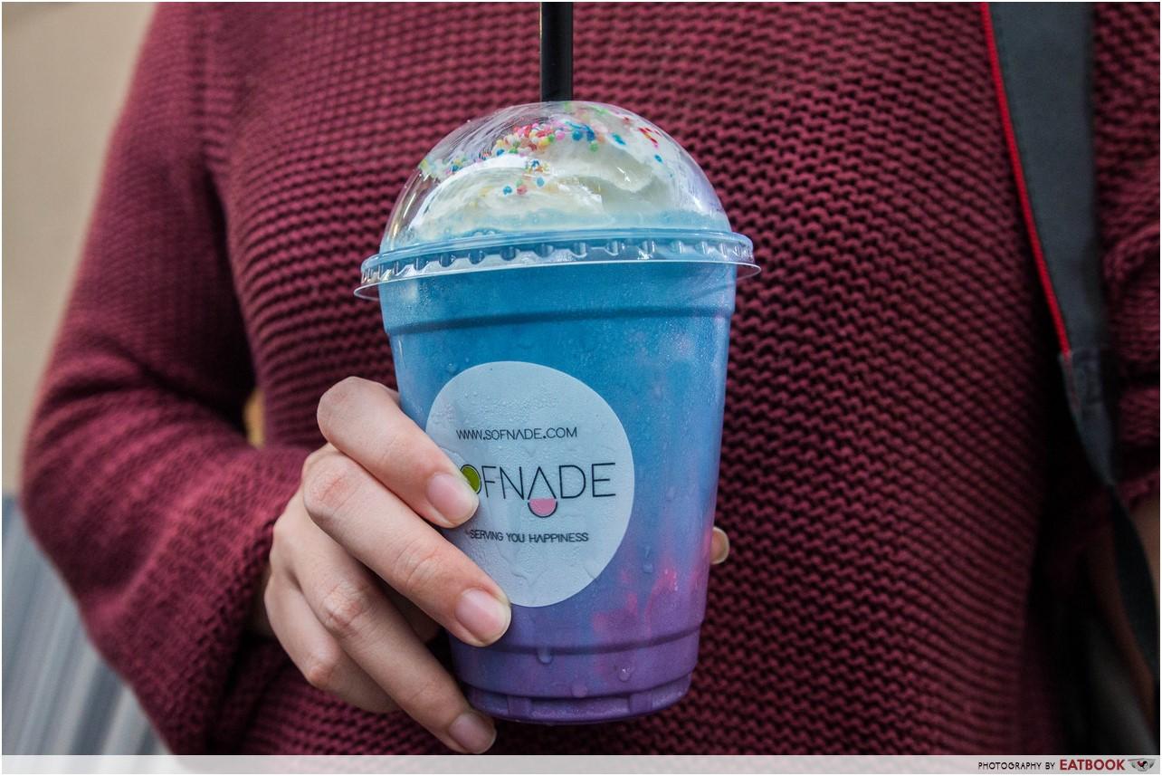 ramadan bazaar 2017 - galaxy milkshake