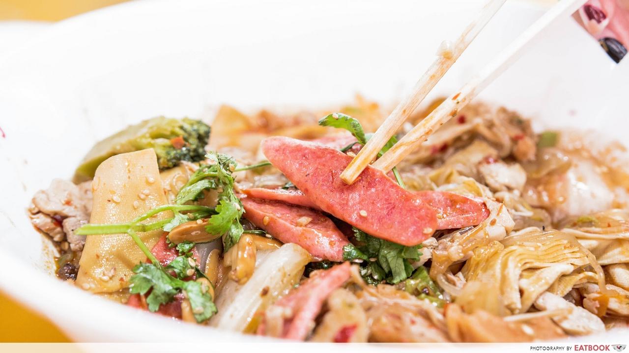 ri ri hong - chinese sausage