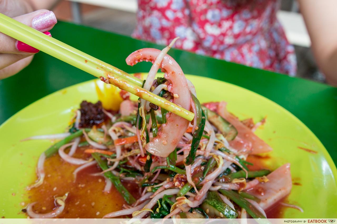 sin chew satay - cuttlefish