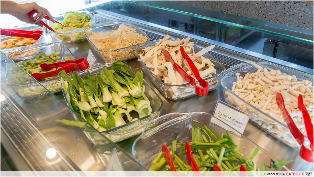 talay kata - veggies